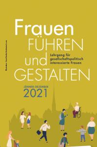 Folder und Anmeldung zum Lehrgang Frauen FÜHREN und GESTALTEN 2021
