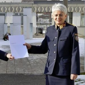 Ehemalige Lehrgangsteilnehmerin: Steirische Polizei-Pionierin